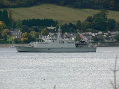 HMS Shoreham M112 @ Faslane 03-10-10 (AJBC_1) Tags: uk england riverclyde boat ship unitedkingdom military navy vessel warship minesweeper royalnavy mcv britisharmedforces navalvessel m112 minehunter jointwarrior hmsshoreham ajc ajc