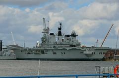 HMS ILLUSTRIOUS - Portsmouth (Ugborough Exile) Tags: uk england nikon hampshire portsmouth lust cvs illustrious 2014 royalnavy r06 d7000