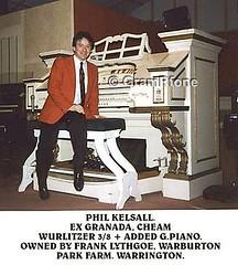 Phil Kelsall - Ex Cheam Wurlitzer (gramrfone) Tags: cinema theatre organists