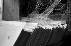 Bookkeeping (Wirdlig) Tags: abstract abandoned hospital decay exploring creepy vacant eclectic urbex rurex