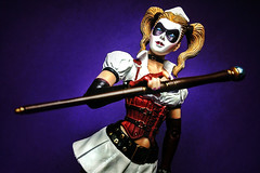 Harley Quinn (Evan MacPhail Photography) Tags: photoshop action ps harley figure quinn express iphone snapseed