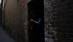 Very sneaky cigarette break (bigboysdad) Tags: street au sydney australia newsouthwales gr ricoh