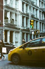 soho (Yun-Chen Jenny) Tags: nyc newyorkcity manhattan taxi soho