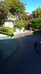 Lombard Street, San Fransisco (Unmarriedswede) Tags: travel vegas usa west coast driving sweden exploring swedish east explore american alcatraz saab graceland 2015