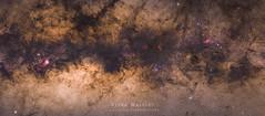 Milky Way Close-up (siuba) Tags: canon 50mm mosaic nebula m8 milkyway m20   eosm  ngc6357 ngc6334  siuba tobylo