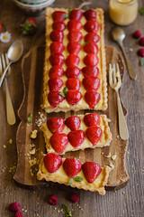 IMG_9553_exp (Helena / Rico sin Azcar) Tags: strawberry berries vanilla tart tarta fresas pastrycream vainilla cremapastelera