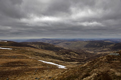 View from Mayar munro (DaveStrong) Tags: park uk cold canon walking spectacular scotland spring view hiking walk united kingdom hike national 5d cairngorms munro 5dmarkii 5d2 5dii 5dmark2