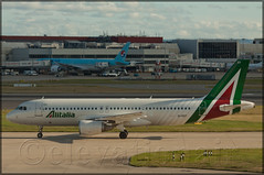 EI-DSY Airbus A320-216 Alitalia (elevationair ) Tags: sun london plane airplane heathrow aircraft aviation airbus arrival airlines departure taxy lhr alitalia a320 londonheathrow egll avgeek airbusa320216 eidsy