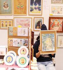 Artist (Design Festa) Tags: japan illustration japanese tokyo artwork artist illustrator tokyobigsight artfestival japanartfestival japaneseartfestival