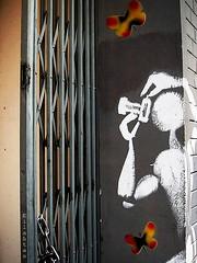 For all of you! (nathaliedunaigre) Tags: street city urban streetart paris art wall butterfly paint photographer peinture ville murs urbain photographe papillons mnager