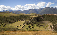 Moray Terraces (cheryl strahl) Tags: peru southamerica ancient circles terraces strata agriculture sacredvalley concentric circular ecological incas sacredvalleyoftheincas morayterraces paradordemoray