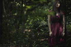 #fumiko #5 (TAKAGI.yukimasa1) Tags: portrait people woman cute girl beauty forest canon dark eos japanese cool fineart asiangirl 5dsr