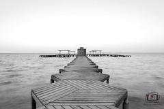 San Antonio de la Ribera (Paula Ordua Photography) Tags: ocean sea blackandwhite blancoynegro port landscape puerto mar paisaje sanantoniodelaribera