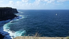 20160424_134846 Looking North From North Head. (Boat bloke) Tags: ocean blue sea seascape water coast waterfront yacht horizon shoreline sydney samsung australia headland galaxys4
