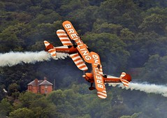 death factor (Dafydd RJ Phillips) Tags: wales aviation welshpool airshow breitling wing walkers