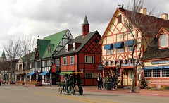 Solvang (Prayitno / Thank you for (10 millions +) views) Tags: california road ca street old city dutch denmark town downtown day cloudy outdoor country capital down historic danish solvang oldtown pedicab konomark