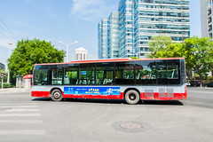 [Buses in Beijing] Huanghai DD6118S11 (ZF, standard-floor) BPT #83206 Line 526 at Tianze Road (tonyluan1990) Tags: bus publictransit beijing  publictransport citybus    huanghai transitbus  dieselbus   dd6118s11 beijingpublictransportholdingsltd   diplomaticdistrict beijingpublictransport  tianzeroad liangmaqiaoroad