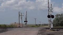 Union Pacific Train Passing near north airport rd in North Platte Nebraska (Crunch53) Tags: railroad train video nikon nebraska pacific union north railway trains locomotive platte d3300