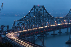 November Calling (Thomas Hawk) Tags: sanfrancisco california bridge usa unitedstates fav50 unitedstatesofamerica baybridge fav10 fav25 fav100