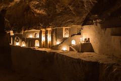Le soucis du dtail-2 (Bre) Tags: paris underground fort pierre pause quarry souterrain bougie dtail carrire calcaire longue