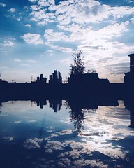 gW_d10Kd94g (rogue.mirror) Tags: city sky reflection clouds moscow cityview