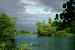Orage sur l'Isle (myvalleylil1) Tags: france river rivire scan slides campagne isle libourne orage diapos gironde