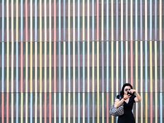 untitdled  Brandhorst, Mnchen / August 2015] (querformat-fotografie) Tags: street people urban bw white art lines architecture germany mnchen photography europe fotografie graphic orte unposed mainz zufall strassenfotografie alltagssituation achimkatzberg querformatfotografie