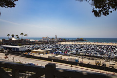 Walking Up to the Pier (etzel42) Tags: ocean california santa ca pier santamonica socal monica boardwalk westcoast