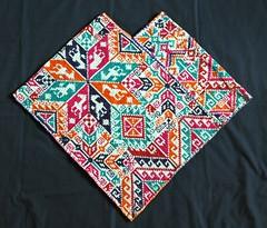 Quechquemitl Cape Nahua Mexico (Teyacapan) Tags: clothing mexican capes textiles embroidered hidalgo bordados nahua sanfranciscoatotonilco quexquemetl