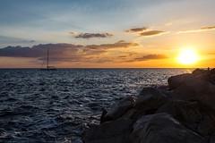 Peaceful sunset (Sunrising Life) Tags: slovenia piran