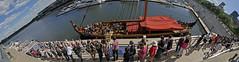 Des Vikings pacifiques (Daniel Lebarb) Tags: sailboat boat montral tourist panoramic wharf bateau oldport quai vieuxport voilier panoramique touriste drakkar