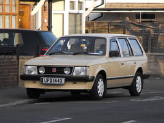 Vauxhall Astra - UPD 144X (Andy Reeve-Smith) Tags: estate luton astra vauxhall mk1