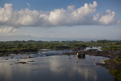 East Bali (ntitov) Tags: morning travel summer vacation sky people bali panorama cloud nature water beauty car work river indonesia view hunting minerals metall sou
