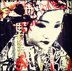 Graffitied Geisha (Cul 9) Tags: