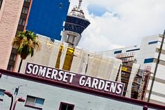 Somerset Gardens (Thomas Hawk) Tags: vegas usa america neon unitedstates lasvegas nevada unitedstatesofamerica stratosphere clarkcounty somersetgardens