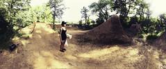 POW trails (Garrett Meyers) Tags: light dave canon bmx marcus trails jeremy dirt obrien kaiser pow jumps ruess garrettmeyers powsbmxcom powsbmx