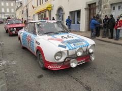 20120202 St Pierreville Ardche - Monte Carlo Historique - Skoda 130 RS -(1976)-001 (anhndee) Tags: france classiccars ardeche skoda rhonealpes voituresanciennes montecarlohistorique