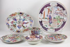 46. Group of Fine Antique Chinese Porcelains