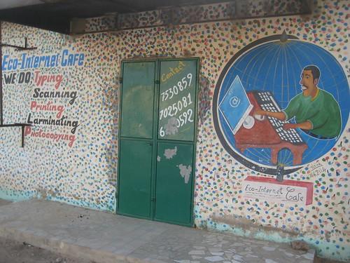 Grafiti in Gambia