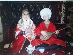 Mom & Dad (Babak Habibi) Tags: mom dad iran traditional father mother clothes  gorgan    traditionalclothes