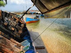 out of duty (anjur) Tags: ocean beach island boat sand nikon laut jakarta pulau pantai bidadari aw100 cipir