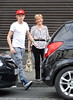 One Direction singer Niall Horan out and about in his hometown of Mullingar, where he went to lunch with his mother and brother at Danny Byrnes Pub Dublin, Ireland