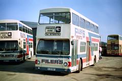 Filers - KJD 80P (Solenteer) Tags: leyland fleetline parkroyal londontransport filers stantonwick kjd80p dms2080