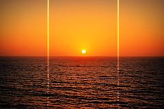 Mexico Sunrise (Dejenee Renee.) Tags: ocean cruise vacation sun water colors sunrise mexico photography nikon susnset d3100