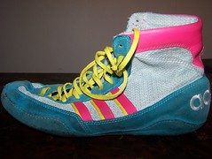 Teals (north96 (lots of shoes fs need money!)) Tags: original speed shoes wrestling great adidas combat 85 rare teals condition