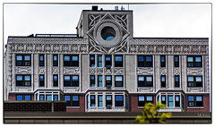 """Homage to the Chicago School"" by Richard Haas (swanksalot) Tags: windows chicago mural lasalle trompeloeil goldcoast diversey richardhaas 18mm200mm"