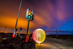 132/366 - Red, Amber, Green. Stop, Stop(ish) and Go (Colin Cameron ~ Photography ~) Tags: longexposure lightpainting ball trafficlight colours bright glowing lighttrails 365 isleoflewis lightstreams 366 colincameron canon7d lightjunkies 2012365 2012366