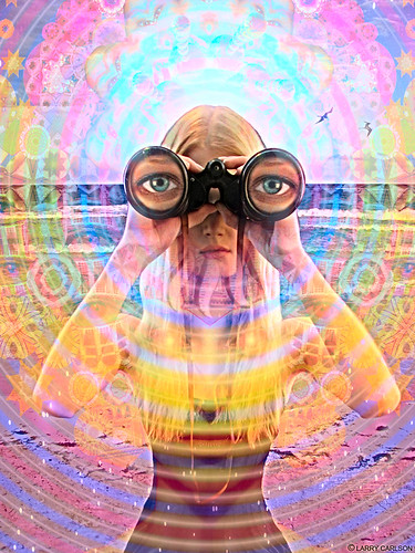 LARRY CARLSON, Looking for Lore and Wind, digital photography, 2010.