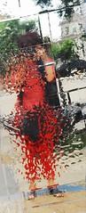 OlgaNZ in Red (Olga NZ) Tags: people distortion selfportrait photoart spherical olganz