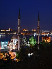 ııııIıııIıııı (Yavuz Alper) Tags: istanbul palace mosque mavi hagiasophia sultanahmet topkapı saray camii ayasofya minare akşam